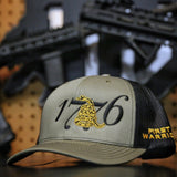 1776 - Don't Tread On Me - OD Green