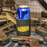 Let Freedom Ring Soft BLACK Koozie
