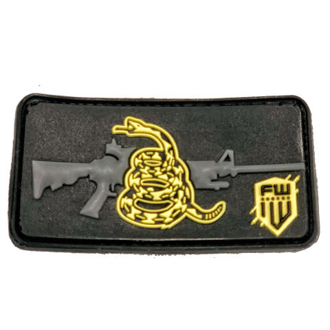 Don't Tread On Me Assault PVC patch