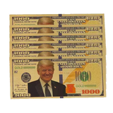 Trump Collector's $1,000 Bill