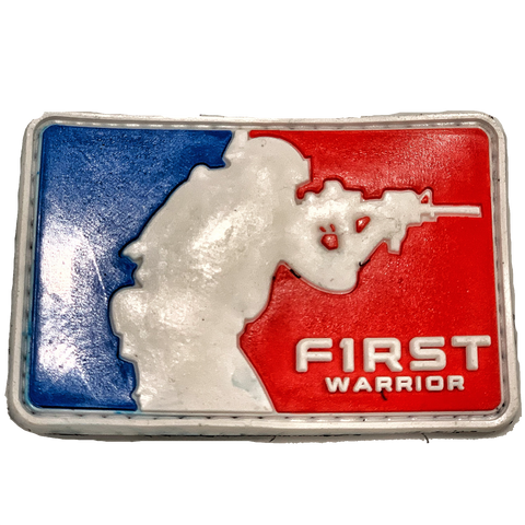 Warrior League PVC patch