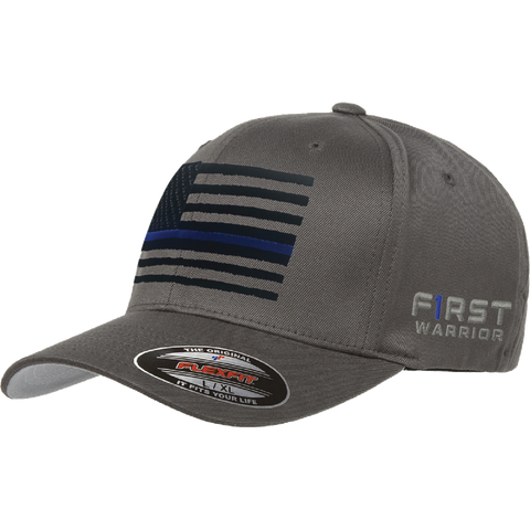 Blue Line United Flag Flexfit