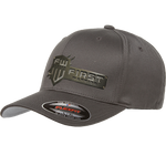 1W Gray Flexfit Black Stainless Hat