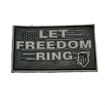 Let Freedom Ring PVC patch