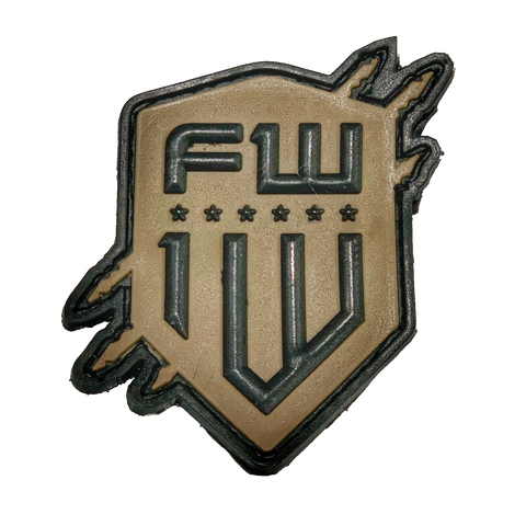 FW FDE Logo PVC patch