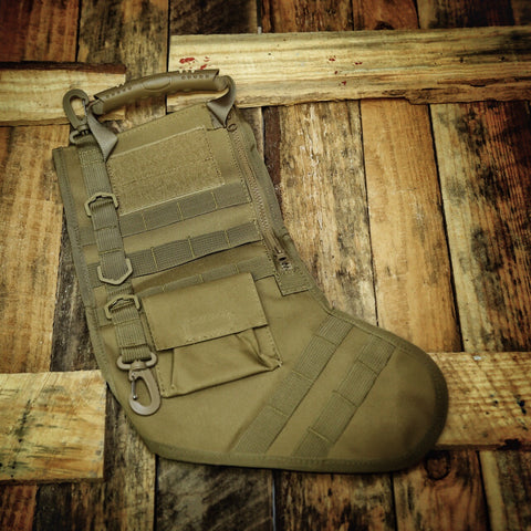 Hanging Tactical Molle Bags - Tan
