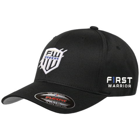 First Warrior Signature Series Black Flexfit Hat