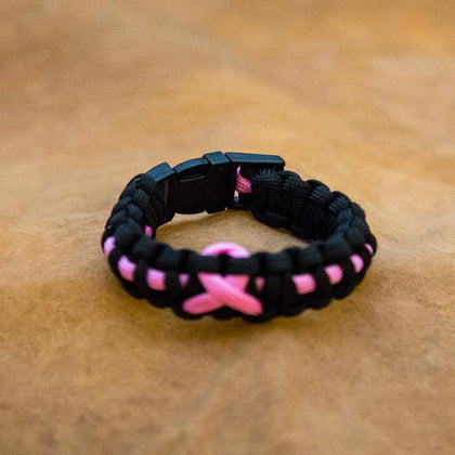 Breast Cancer Awareness Paracord
