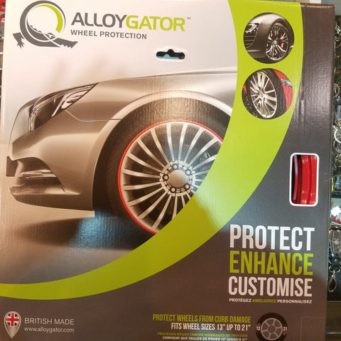 Allocator Wheel Protection Red Rim Protection