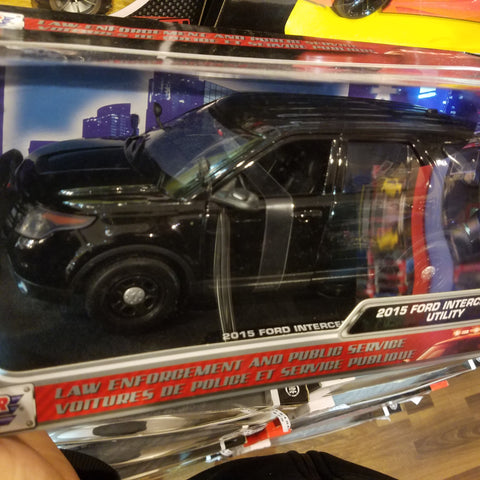 1:18 2015 FORD Interceptor Utility Law Enforcement And Public Service  Motormax