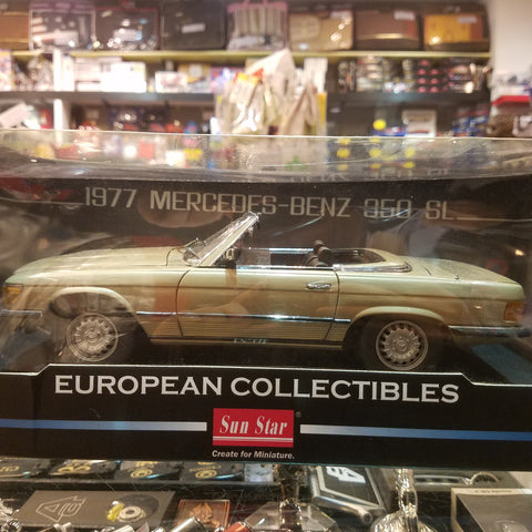1:18 1977 Mercedes-Benz 350 SL Sunstar