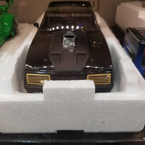1:18 Ford Xb Falcon Tuned Version Black Interception Autoart