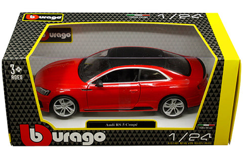 1:24 Audi RS 5 Coupe (Red with Black Roof)