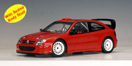 AUTOart 1:18 CITROEN XSARA WRC 2004 PLAIN BODY VERSION RED