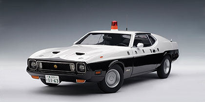 AUTOart 1:18 MUSTANG MACH I JAPANESE POLICE