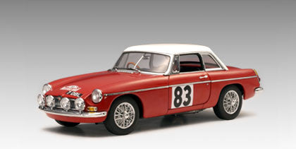 AUTOart 1:18 MGB GT MK II WINNER OR RALLY MONTE CARLO