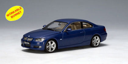 AUTOart 1:43 BMW 3 SERIES COUPE E92 BLUE