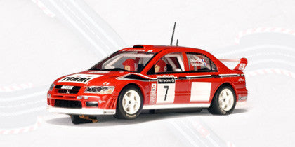 AUTOart 1:43 MITSUBISHI LANCER EVO VII WRC T.MAKINEN/K.LINDSTORM 2001 RALLY GREAT BRITAIN