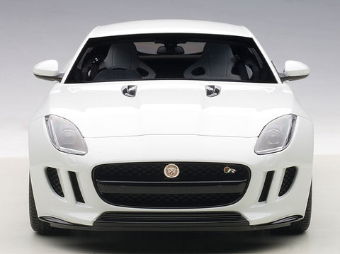 AUTOart 1:18 JAGUAR F-TYPE 2015 R COUPE POLARIS WHITE