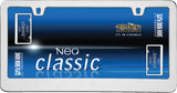 LICENSE PLATE FRAME NEO CLASSIC CHROME