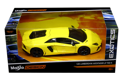 1:24 Design Exotics - Lamborghini Aventador LP 700-4 (yellow)