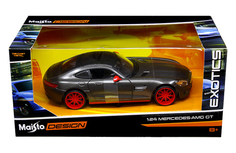 1:24 Modern Exotic - Mercedes-Benz AMG GT Black