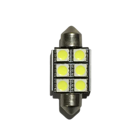36mm LED Canbus White 1pc