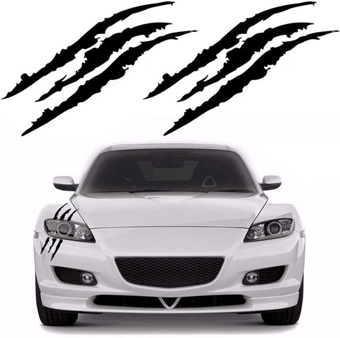 Car decal - Monster Claw Marks