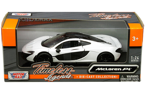 1:24 Timeless Legends - McLaren P1 (White)