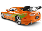 Jada 1:24 Brian & Supra with figure F&F Diecast Model