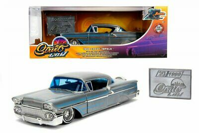 "Jada 1:24 1958 Chevy Impala 20th anniversary ""Street Low"""