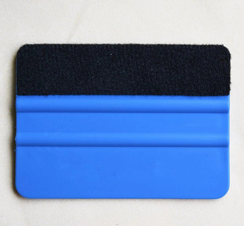 Squeegee for Car Vinyl Scraper Decal Applicator Tool with Black Fabric