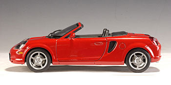 1:18 TOYOTA MR2 SPYDER RED