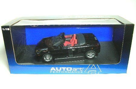 1:18 TOYOTA MR2 SPYDER BLACK