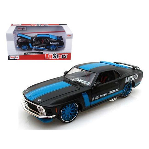 1:24 All Stars - 1970 Ford Mustang Boss 302 (BlackBlue)