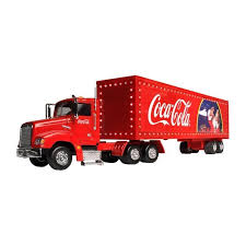 1:43 Coca-Cola Holiday Caravan Camo on fetes de Noel
