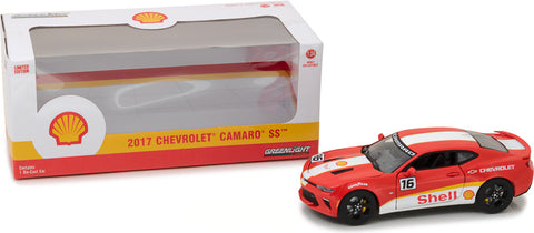 Greenlight 1/24 2017 Chevy Camaro SS Shell Oil-autoworld-1