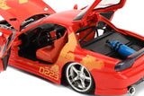 "Jada 1/24 ""Fast & Furious"" Orange Julius' Mazda RX-7-autoworld-2"