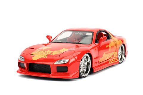 "Jada 1/24 ""Fast & Furious"" Orange Julius' Mazda RX-7-autoworld-1"