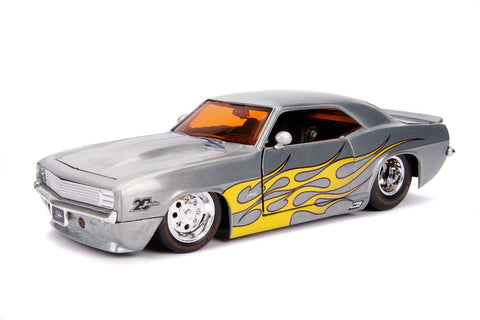 "Jada 1/24 ""Bigtime Muscle"" 1959 Chevy Camaro - 20th Anniversary-autoworld-1"