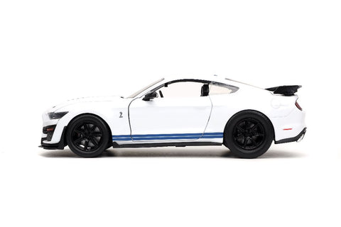 "Jada 1/24 ""BIGTIME Muscle"" 2020 Ford Mustang Shelby GT500 - Wht 32663"