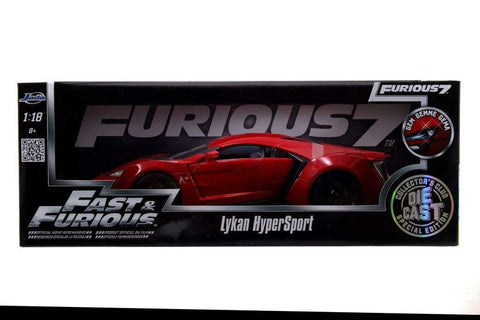 1/18 Lykan Hypersport Fast&Furious Jada