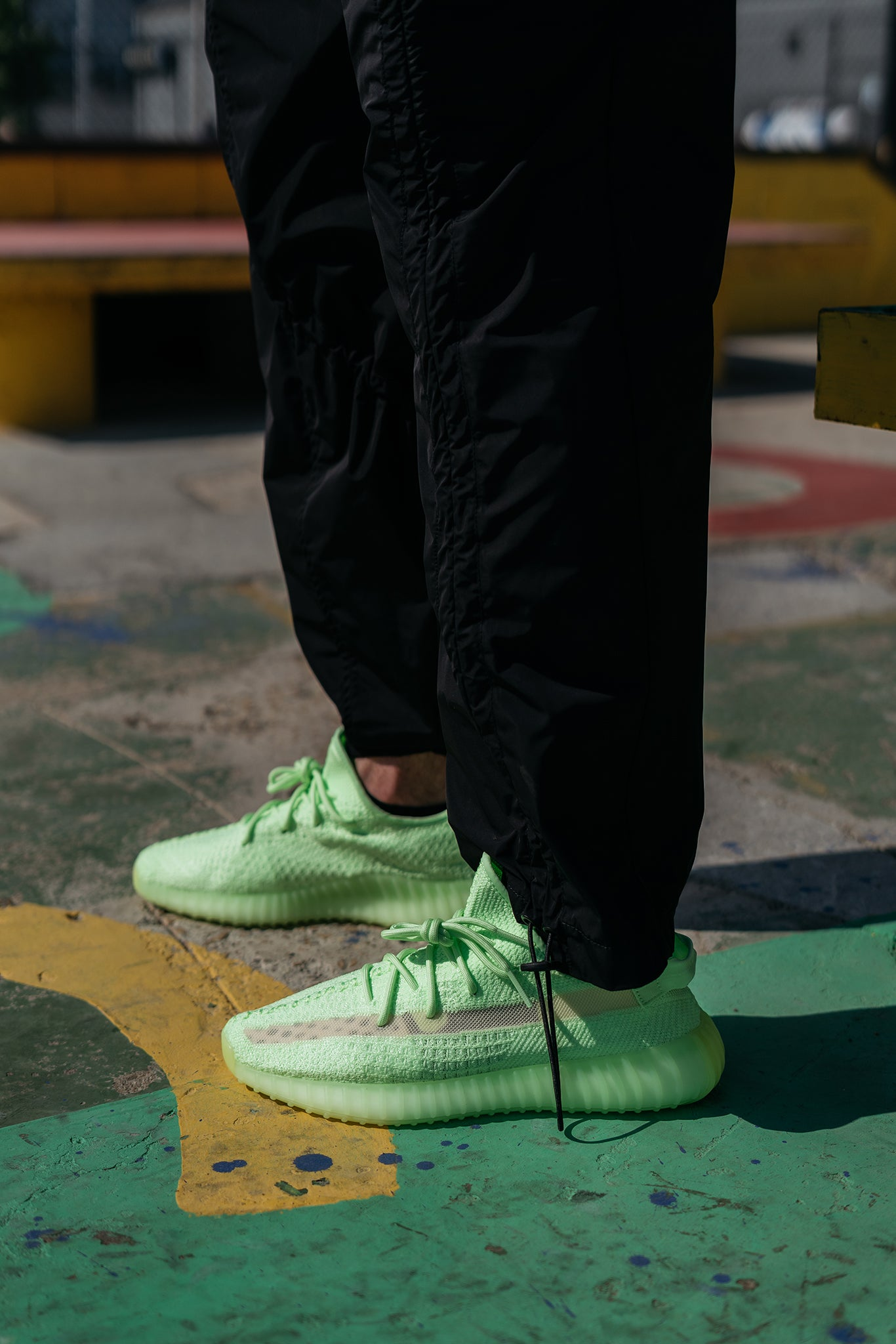 11f3ec21 The adidas + KANYE WEST YEEZY BOOST 350v2 'Glow In The Dark' – ROOTED