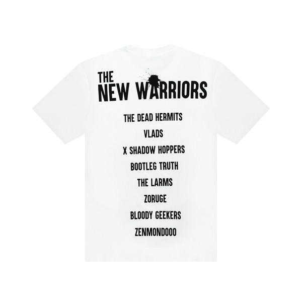 Undercover New Warriors S/S T-Shirt [White]