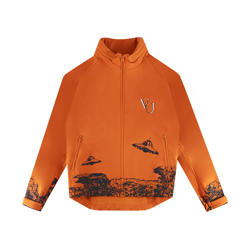 Undercover x Valentino Time Traveller Lightweight Jacket [Dark Orange]