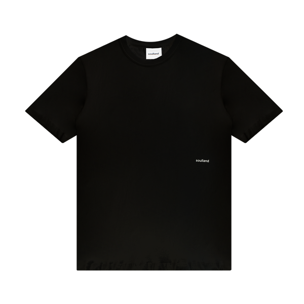 Soulland Coffey T-Shirt 'Black'