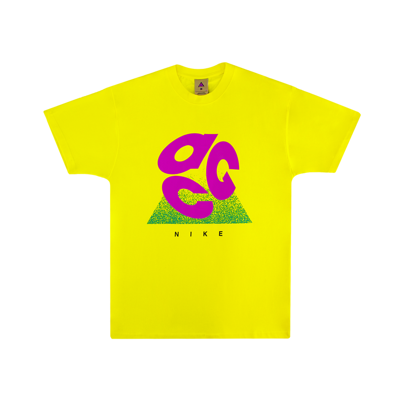 Nike ACG Logo T-Shirt [Optic Yellow]