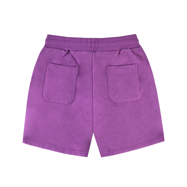 AIME LEON DORE FRENCH TERRY SHORTS [PURPLE TAPE]