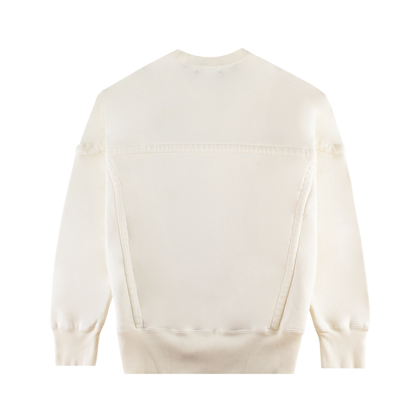 AMBUSH Wide Piping Sweatshirt [White]
