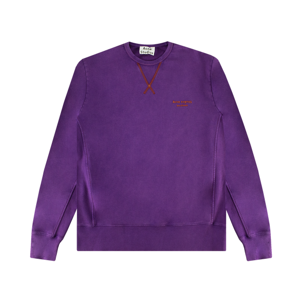 Acne Studios Crewneck Sweatshirt [Purple]
